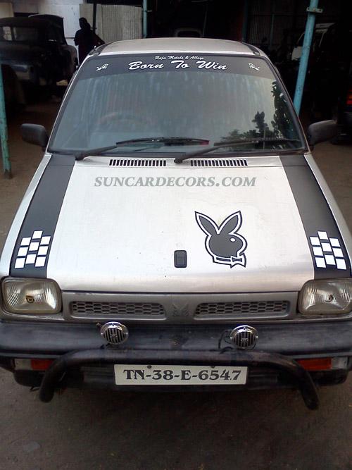 Car stickering