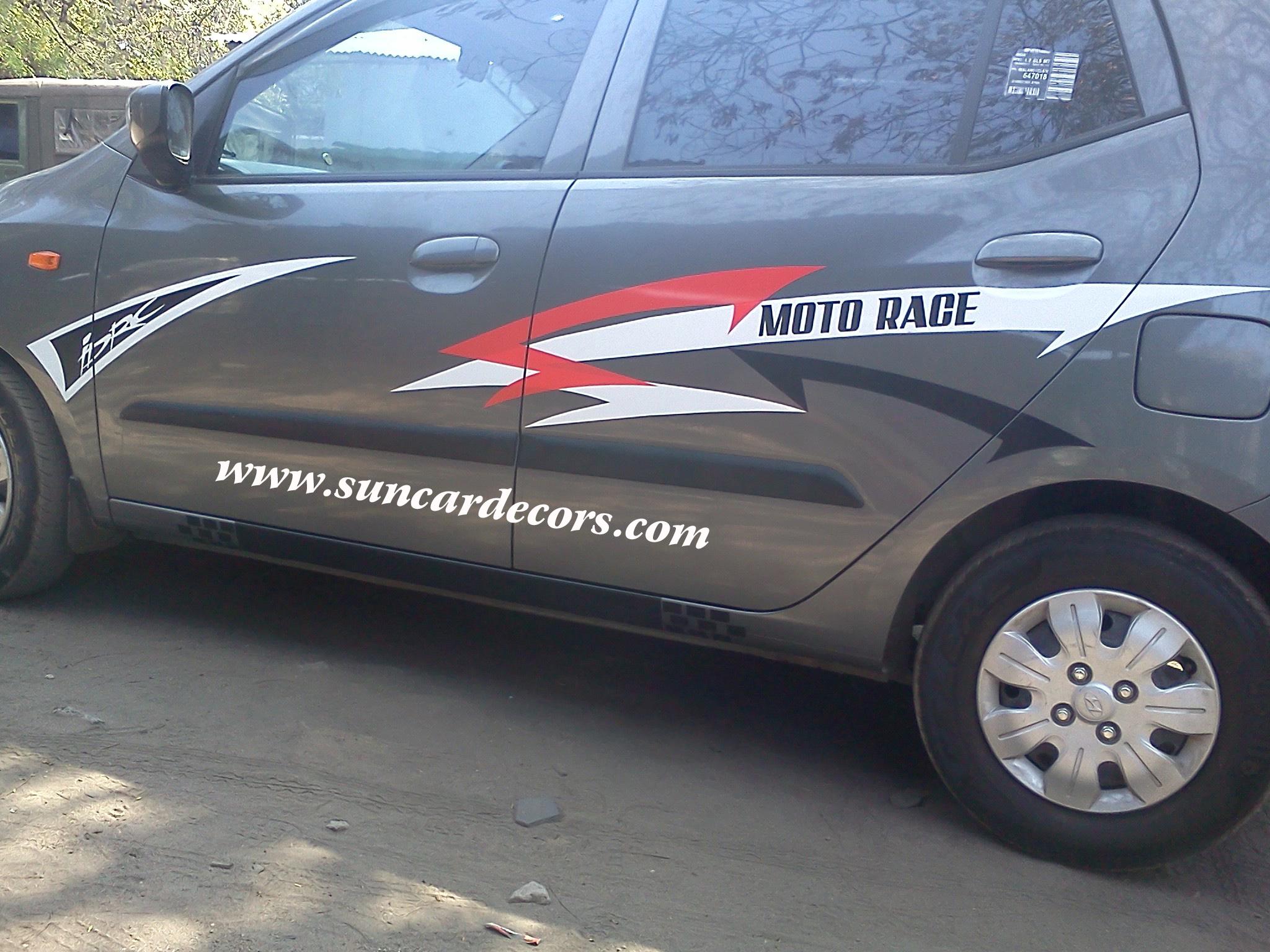 Car stickers design in coimbatore - Car Stickering