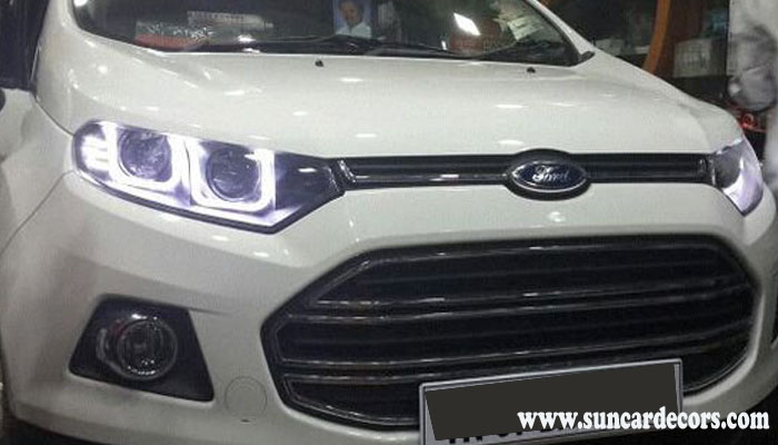 Modified Headlights Ford Ecosport