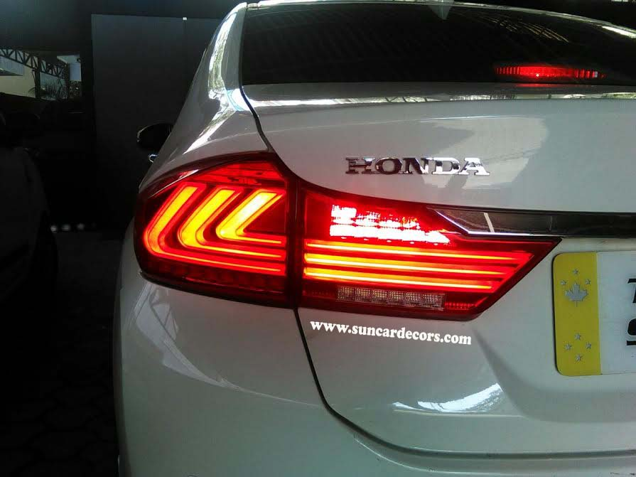Charming Honda City Latest LED Tail Lights