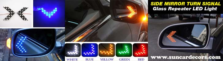 LED Turn Signal Mirrors