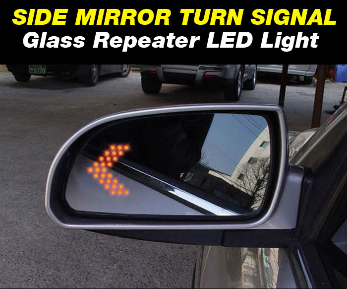 Rear view mirror decoration