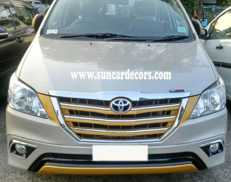 Toyota Innova Front Grill Modified
