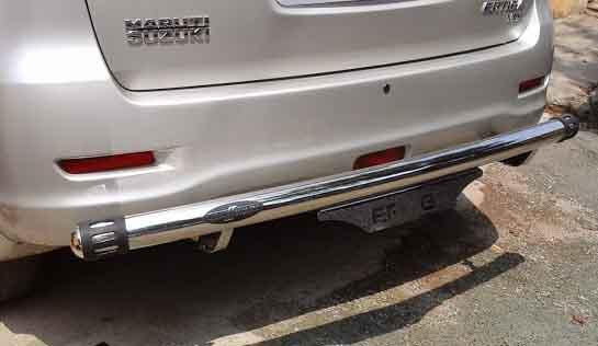 Car Bumper Guard >> Maruti Ertiga Rear Bumper Guard Archives - Car Decors   Car Accessories Coimbatore India   Car ...