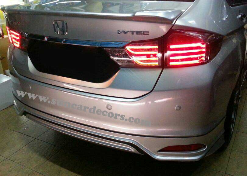 Honda City Tile Lights Latest-1