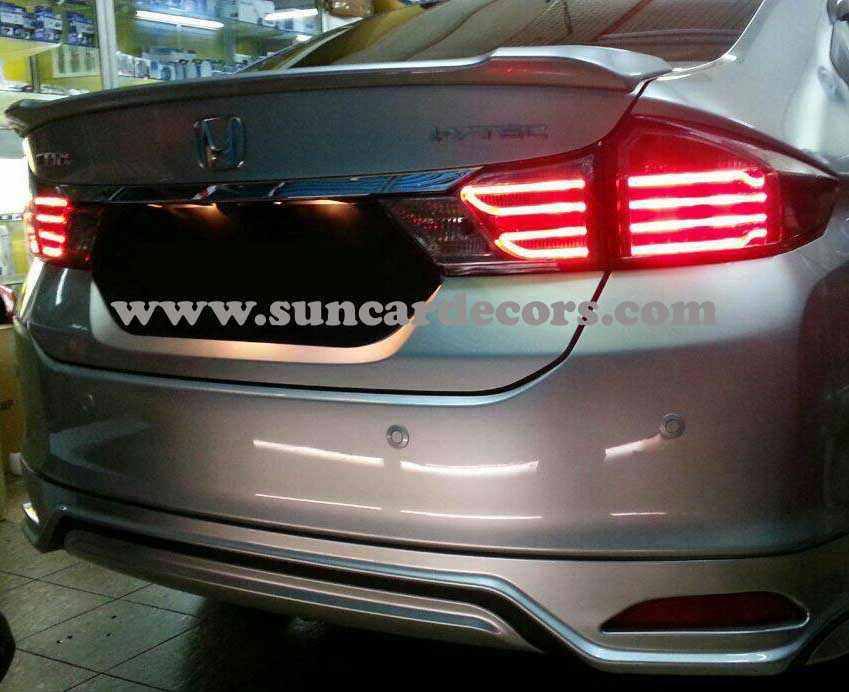 Honda City Tile Lights Latest-2