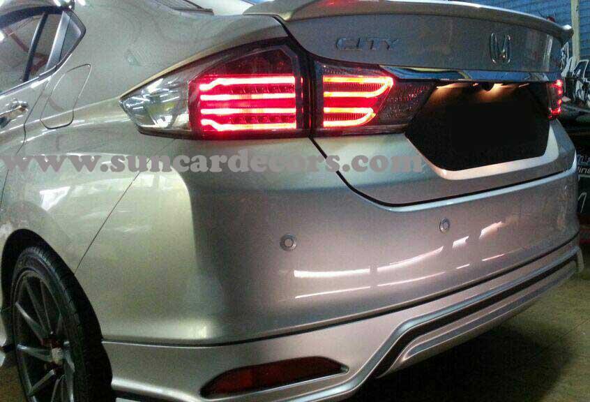 Honda City Tile Lights Latest-3