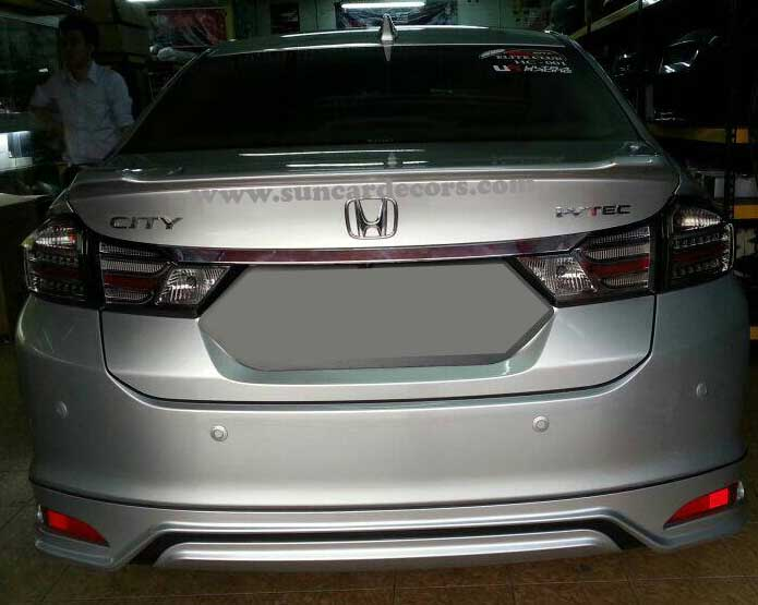 Honda City Tile Lights Latest-4