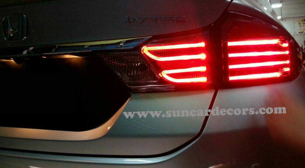 Honda City Tile Lights Latest-5