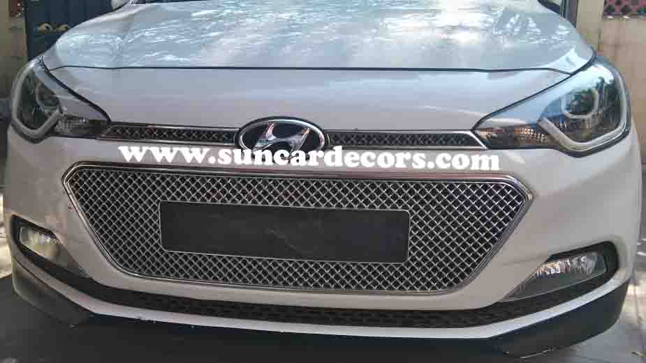Hyundai I20 Elite Headlights Modified