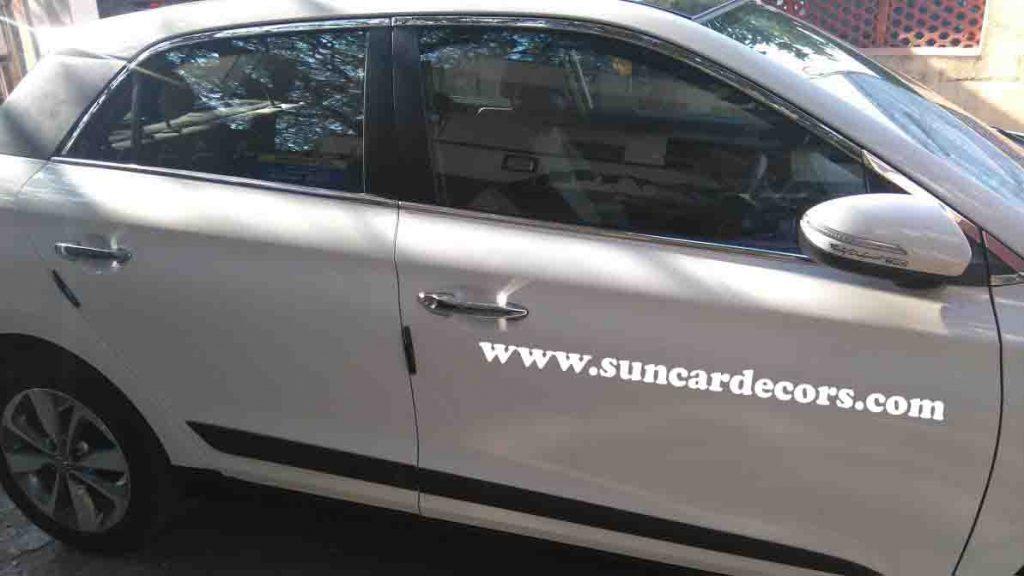 Hyundai i20 Elite Side Chrome Grills