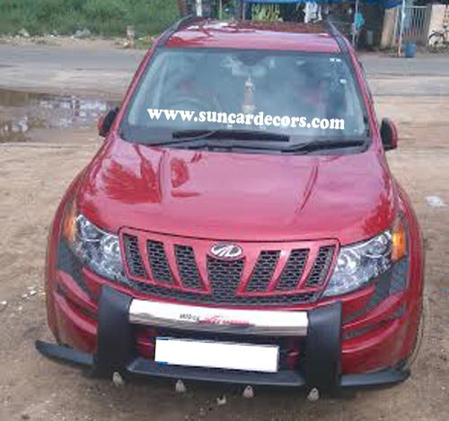 XUV 500 Hiker Front Bumper Safety Guards-1