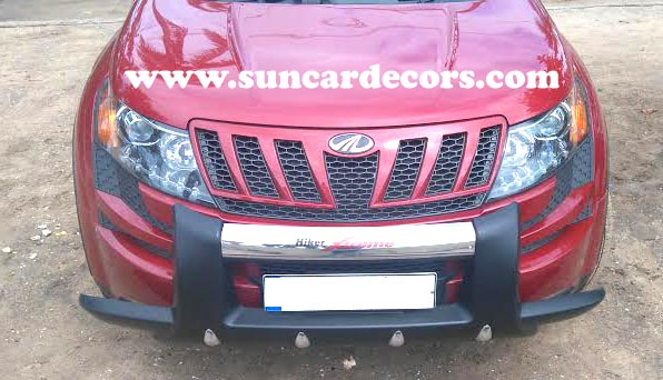 XUV 500 Hiker Front Bumper Safety Guards