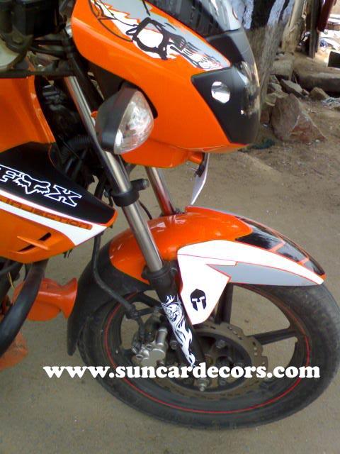 Bike Stickering