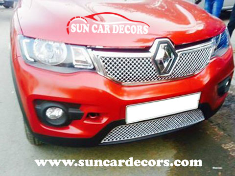 Renault Kwid Chrome Grill New