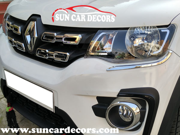 Renault Kwid Chrome Grill Original