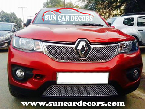 Renault Kwid Chrome Grill