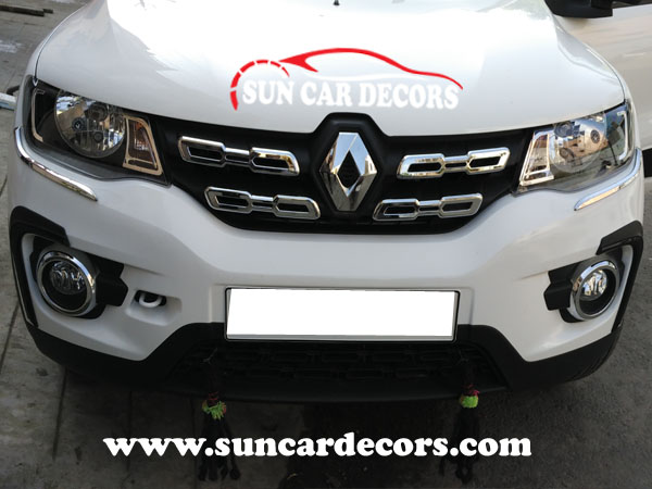 Renault New Kwid Chrome Grill